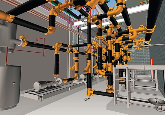 Educational software news mechanical piping systems for Room modeling software
